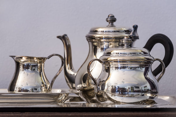 Polished Silver Tea Set