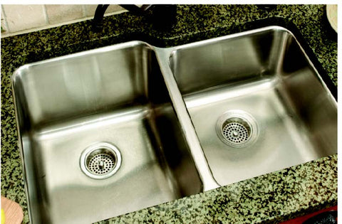 Polished Stainless Steel Sink