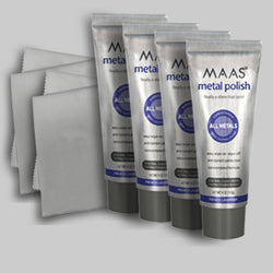 Maas Metal Polish (113g) 4 tube bulk discount