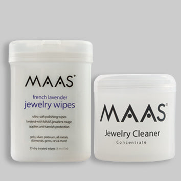 Maas Jewellery Cleaner and Polishing Wipes - Special Offer
