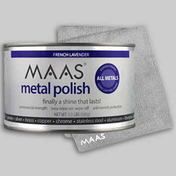 MAAS Metal Polish 500g (equivalent to 4.4 large tubes)