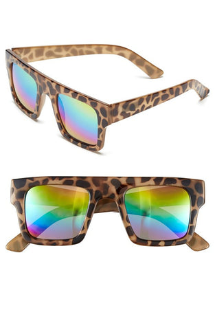 DROPKICKS STOCK ITEM: 47mm Flat Top Sunglasses