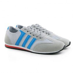 Fashion Men's Athletic Shoes With Splicing and Lace-Up Design