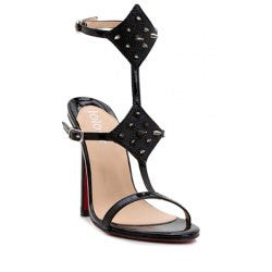Sexy Belt and Rivets Design Women's Sandals
