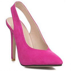 Sexy Women's Pumps With Hollow Out and Suede Design