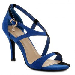 Elegant Suede and Color Block Design Women's Sandals