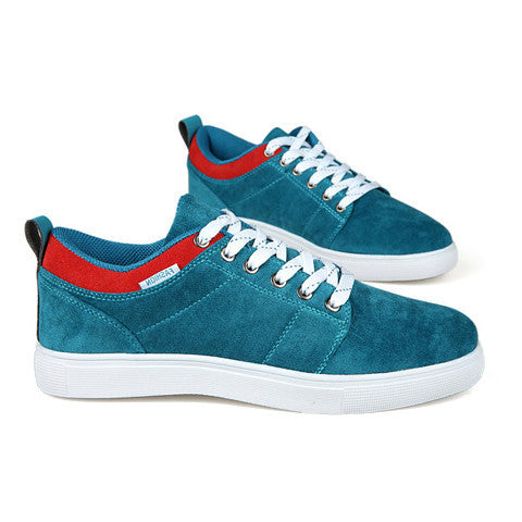 DROPKICKS STOCK ITEM: Fashion Style Men&#039s Casual Shoes With Color Block and Round Toe Design