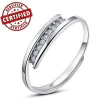 (1 pieces /women) 100% Solid Sterling silver 925 18k gold plated Adjustable open women's ring 2014 new trendy jewelry