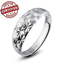 (1 pieces /women) 100% Solid Sterling silver 925 Lovers Open engagement Ring for women  inchAll Starsinch