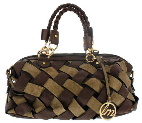 TAINARA BROWN WOMEN'S HANDBAG