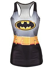 Batman Tank Top Dress Night Club Sexy Uniform