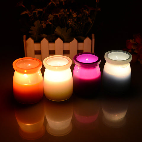 DROPKICKS STOCK ITEM: New Arrival mosquitos Insect Repellents scented candles decorative glass candle jars Citronella Tealight Candles home decor