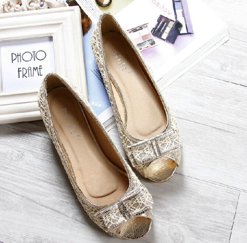 2014 Korean Fashion Cheetah Print Leopard Peep Toe Women Flats Casual Footwear Club Party Shoes Lace Mesh Black Blue Big Size