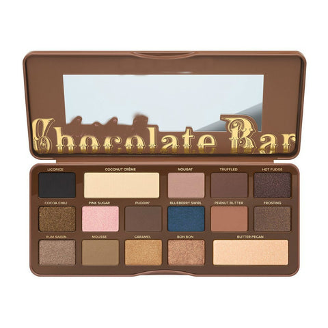 DROPKICKS STOCK ITEM: Best seller Makeup terlalu chocolate bar palet eyeshadow, 16 warna dasar-dasar pigmen eye shadow maquiagem sombra untuk menghada Alternative Measures