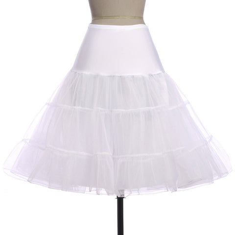 2015 New Arrive Short Organza Petticoat Crinoline Vintage Petticoat for formal Dresses Underskirt Rockabilly Tutu cl008922 Alternative Measures - Brides & Bridesmaids - Wedding, Bridal, Prom, Formal Gown