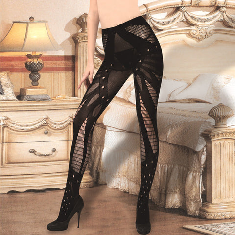 2015 sexy women mesh tight stockings Thigh High big net Silk Stockings solid Fishnet Pantyhose sexy  night club stocking
