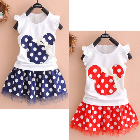 0-4Y Minnie Mouse Baby Kid Girls Princess Clothes Cartoon Party Mini Dress Alternative Measures - Brides & Bridesmaids - Wedding, Bridal, Prom, Formal Gown
