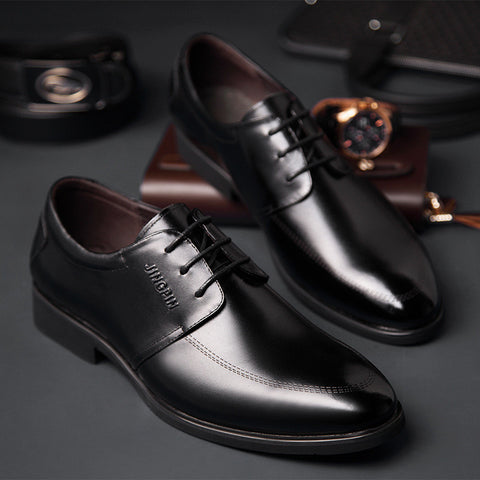 2015 Classic Brown Black Oxford Business Soft Breathable Comfortable Genuine Leather Men Shoes Casual Flats For Male