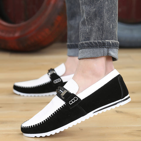 2015 new fashion loafers men boat shoes slip on flats casual driving sneakers high quality 3 colors