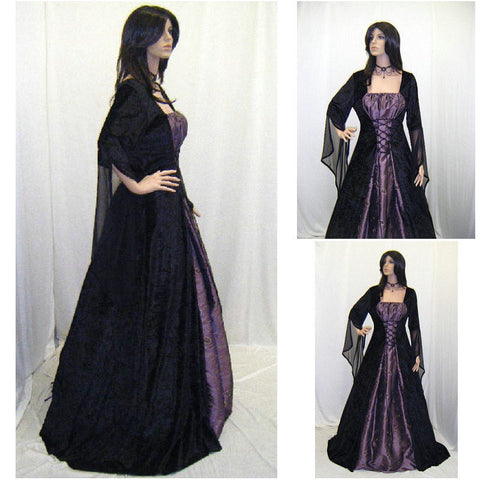 1860S Victorian Corset Gothic/Civil War Southern Belle Ball Gown Dress Halloween dresses CUSTOM MADE R459 Alternative Measures - Brides & Bridesmaids - Wedding, Bridal, Prom, Formal Gown