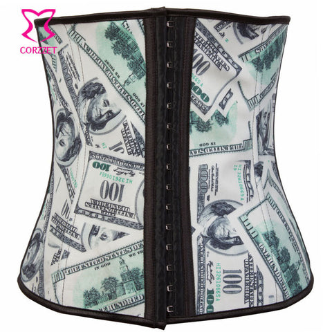 2012 Latex Waist Training Corsets Sexy Corsets and Bustiers Women Latex Corset Gothic Steel Boned Latex Waist Trainer Corlselet