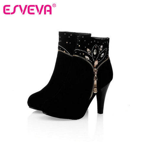 2014 NEW arrivals fashion ankle boots hot sale sexy thin high heels boots for women martin boots