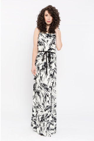de188929d3f7 Our dawn print is the perfect look for a more subtle Halloween costume,  while still maintaining that spooky feel. Wear dark lipstick with this dress  to ...