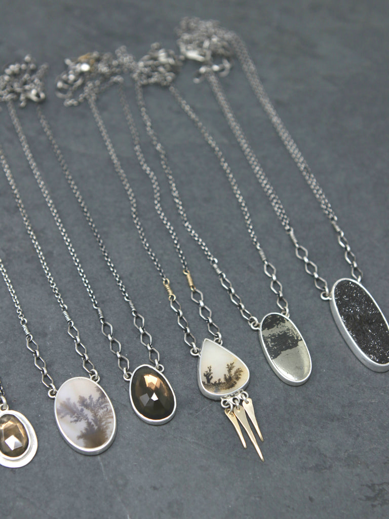 One of a Kind Gemstone Necklaces by Jay Cuneo Jewelry