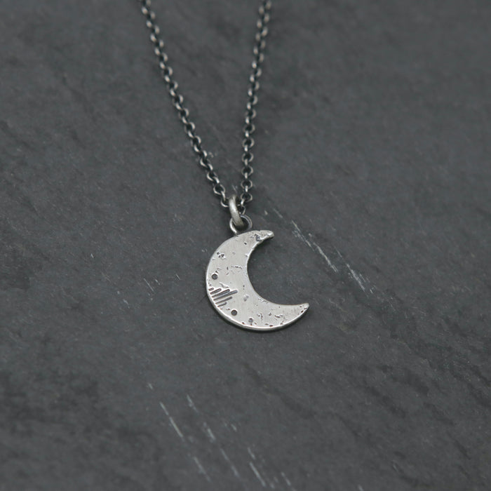 Little New Moon Necklace