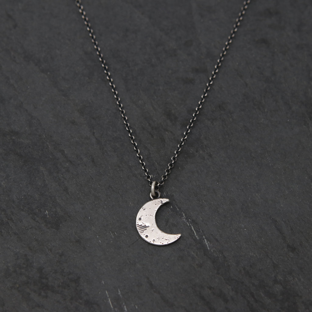 Little New Moon Necklace - Limited