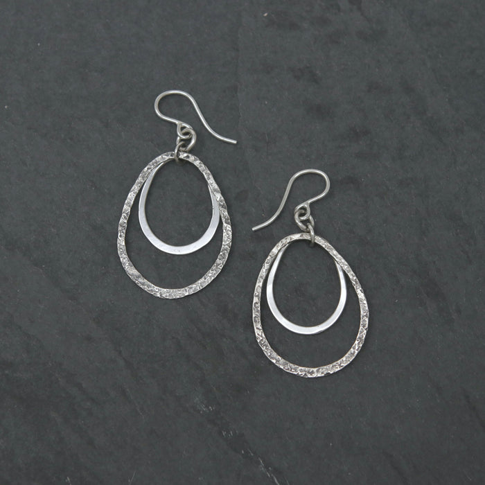 Relic Hoop Dangling Earrings - Last Pair
