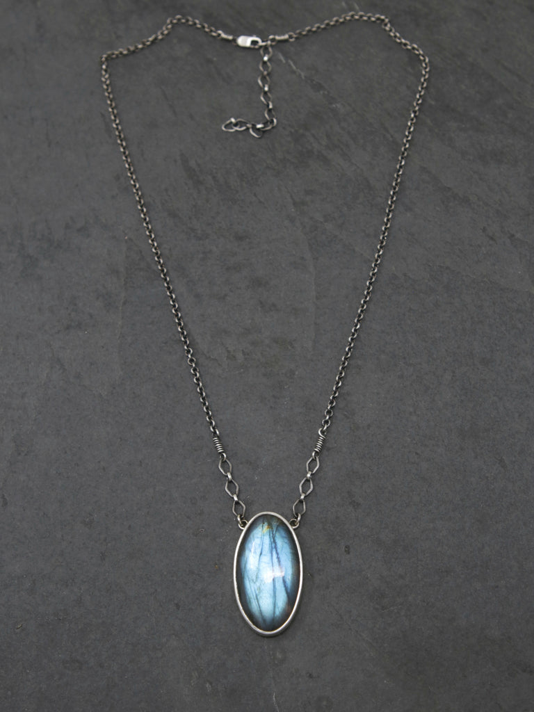Large Labradorite Spiritus Necklace