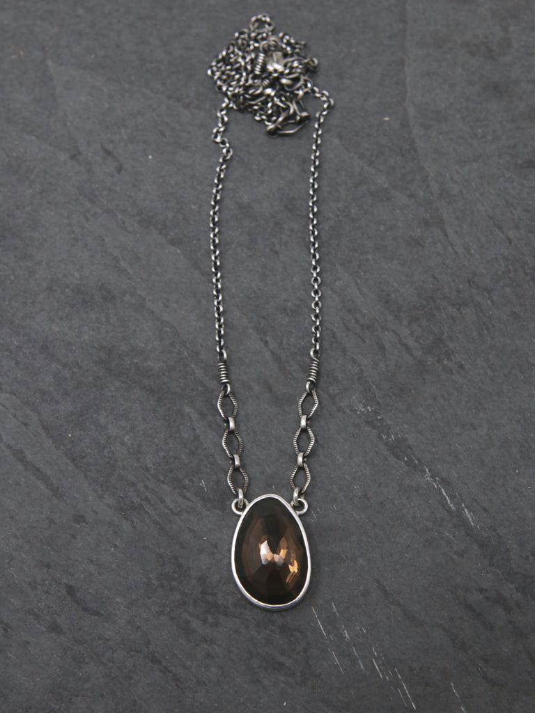 OOAK Smokey Quartz Spiritus Necklace