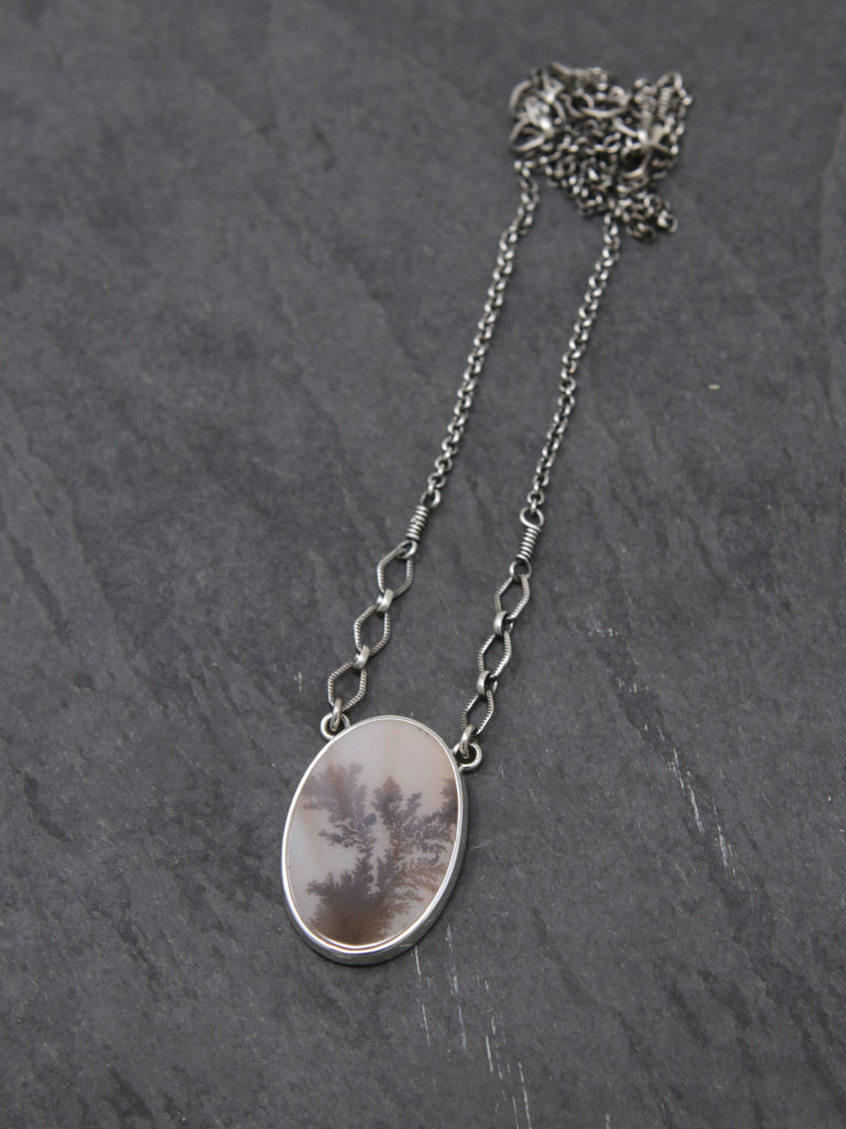 OOAK Dendritic Agate Spiritus Necklace