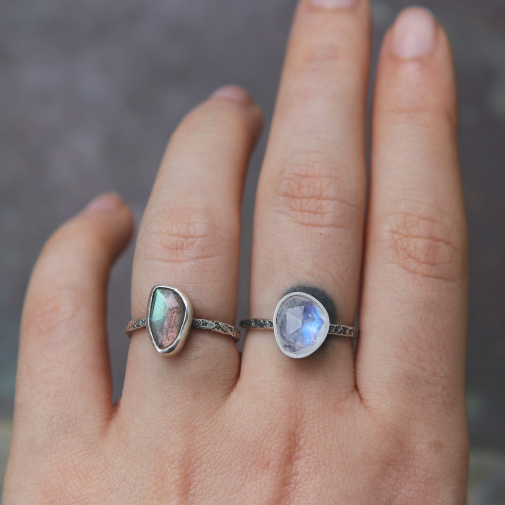 Moonstone Relic Ring A - Custom Size
