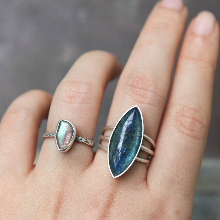 Kyanite Europa Ring - Custom Size