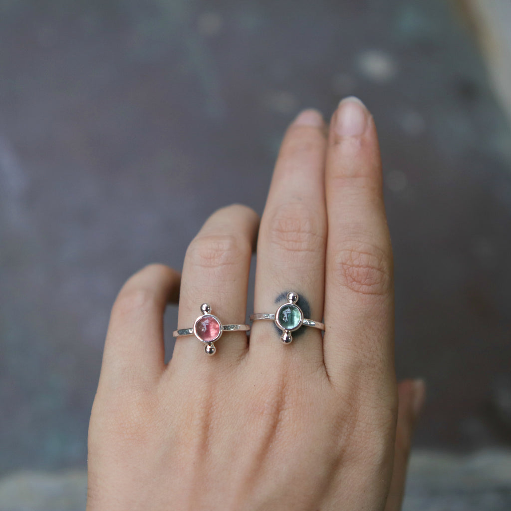 *Limited Edition Tourmaline Polar Ring*