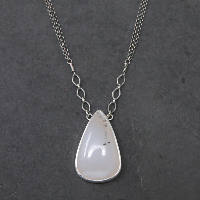 Large Dendritic Opal Spiritus Necklace