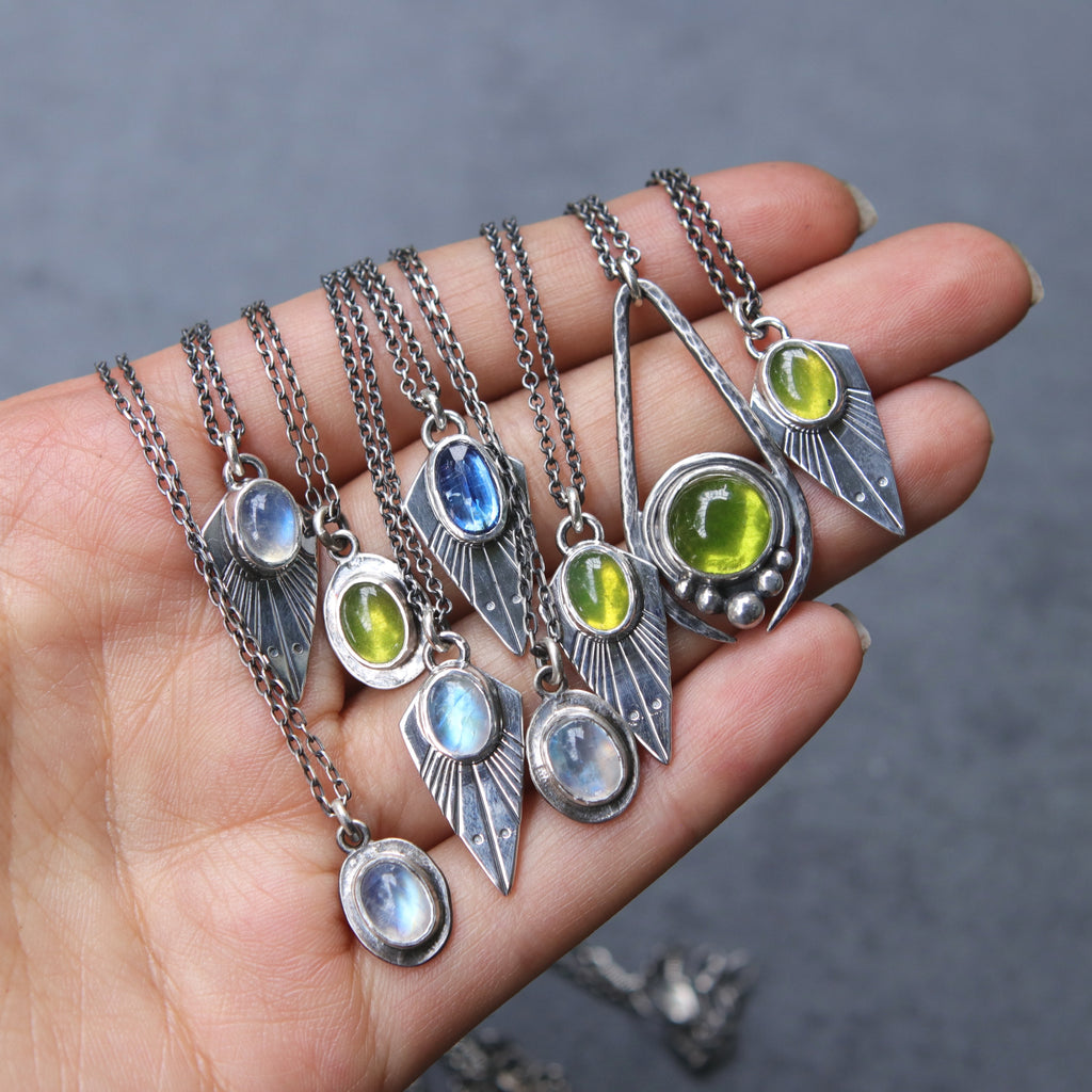 Vesuvianite Artemis Necklace *Limited - Last One*