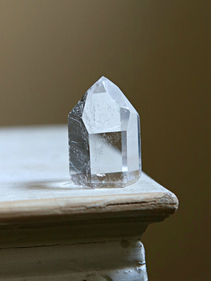 Perfect Symmetrical Quartz Crystal Point