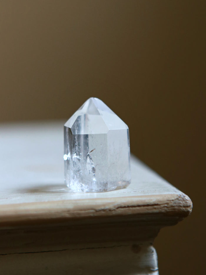 Ombre Included Quartz Crystal Point