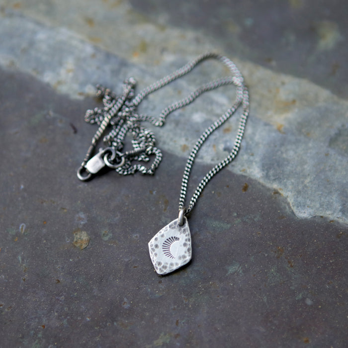 Moon Spade Necklace - One Left!