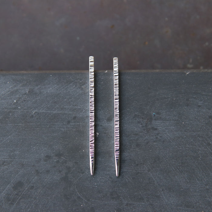 Lined Spear Studs