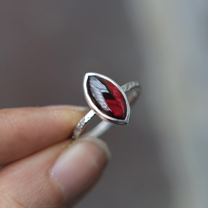 Garnet Marquise Relic *Limited* Size 8.5