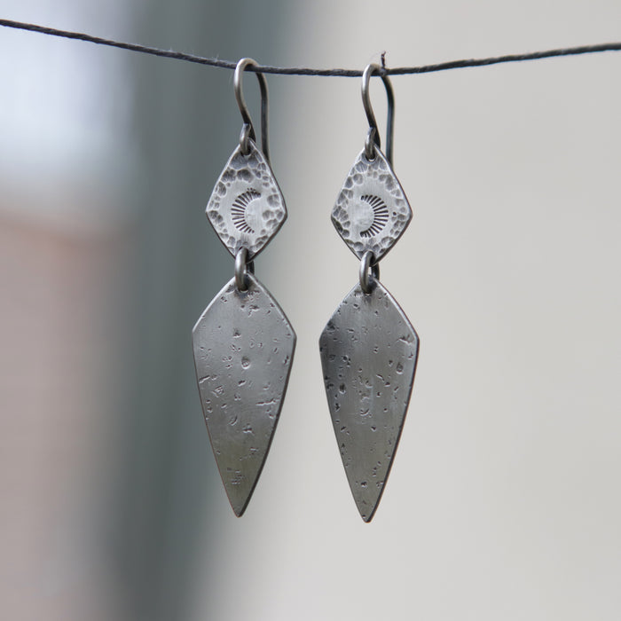 Moon Dagger Earrings