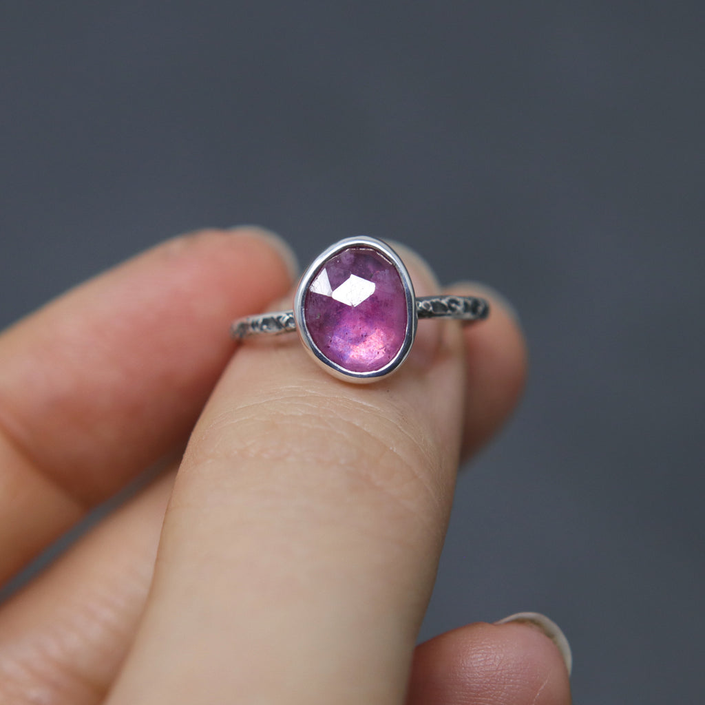 Ruby Relic Ring - Size 6 OOAK