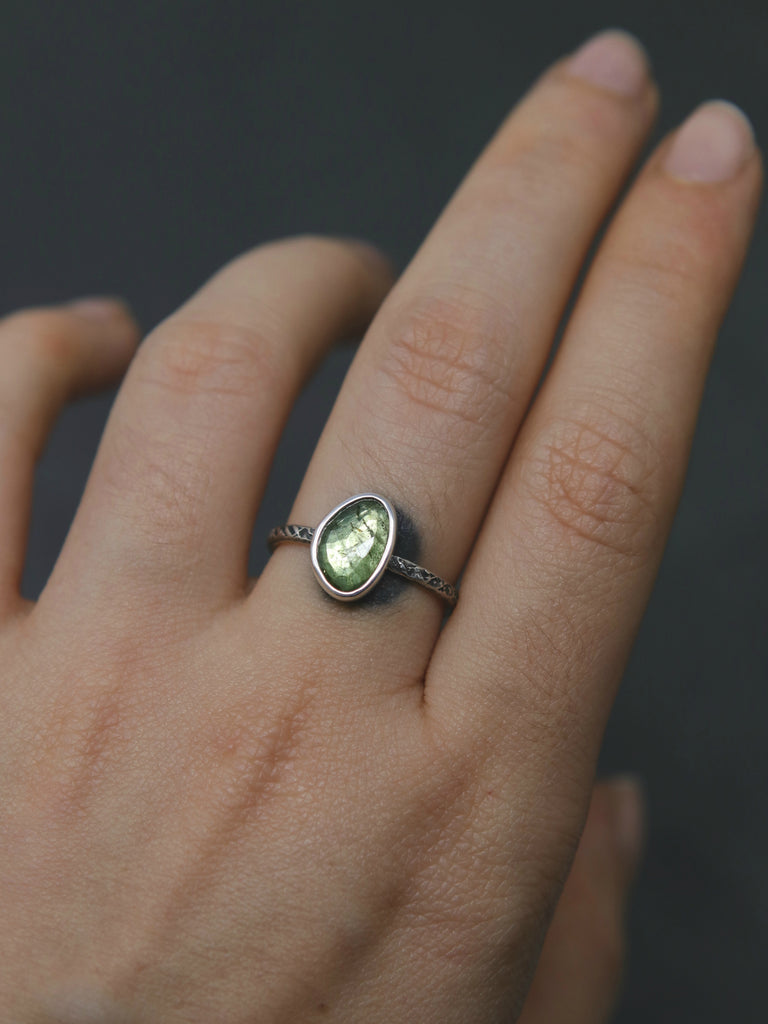 Tourmaline Relic Ring - Size 7.5 OOAK