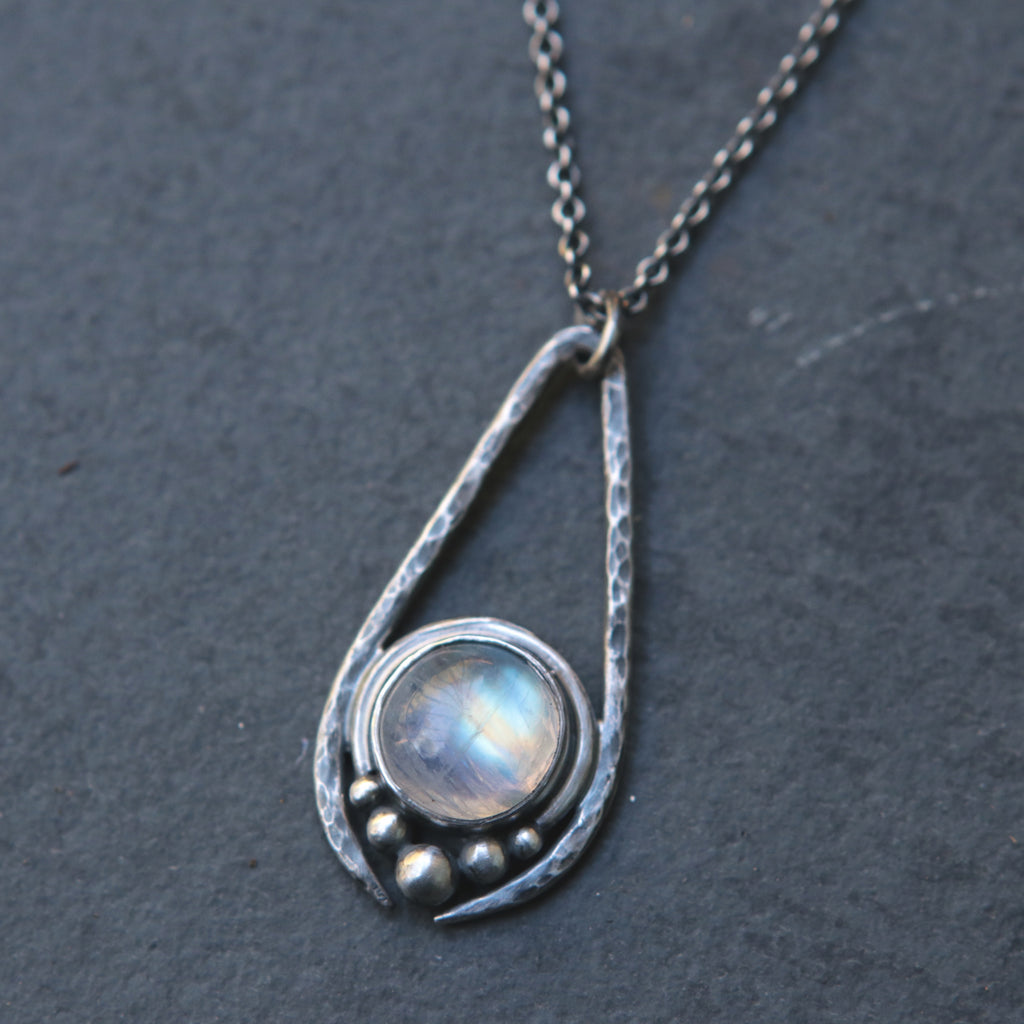 Rainbow Moonstone Artemis Necklace *Limited*