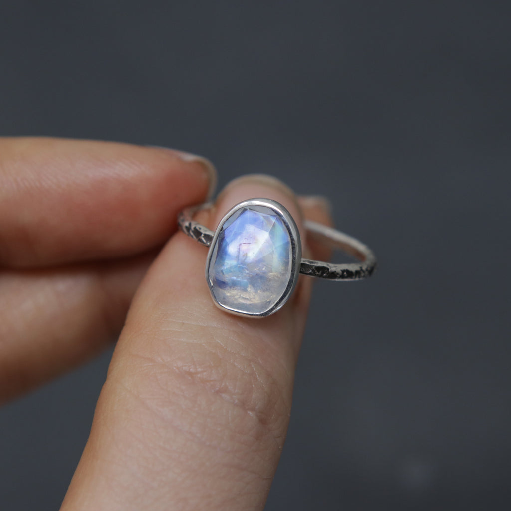 Moonstone Relic Ring - Size 8.5 OOAK