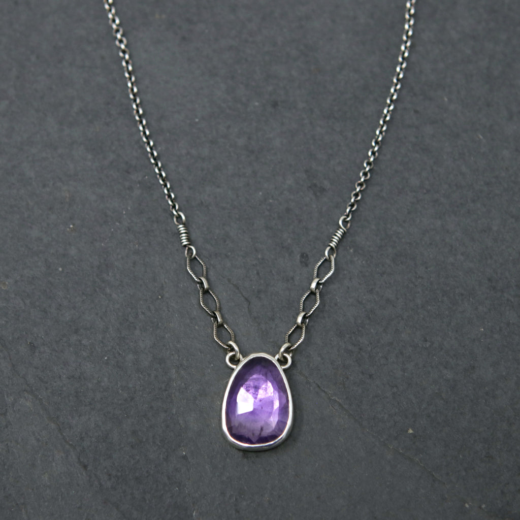 OOAK Amethyst Spiritus Necklace